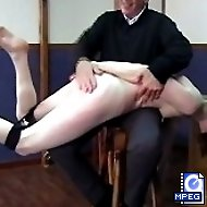 Embarrassing PT lessons and a severe OTK spanking for a lovely young miss