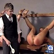 3 beautiful girls tied, punished and humiliated