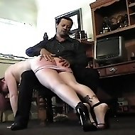 Devilish girls are caned to keep them under control